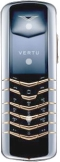 Vertu Signature Stainless Steel with Yellow Metal Tips