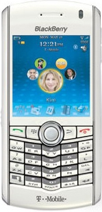 BlackBerry Pearl (White)
