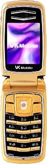 VK Mobile VK300 Gold