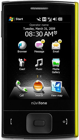 Asus nuvifone M20